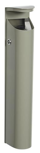 Rossignol asbak voor wandmontage 2.5 L in 4 verschillende kleuren Rossignol 56455,56458,56459,56597