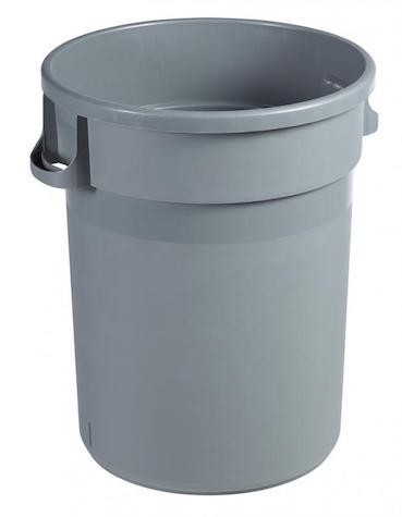 Barella afvalbak van polypropyleen verkrijgbaar in 80L of 120L van Rossignol Rossignol 56556,56557