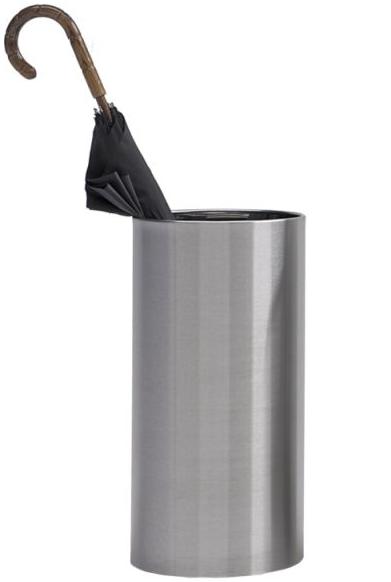 Graepel G-Line paraplubak gemaakt van geborsteld RvS, handig met wateropvangbakje! G-line Pro K00021609