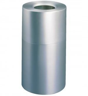 RUBBERMAID Atriumª Aluminium container 132,5 liters in silver fire safe Rubbermaid VB 009079