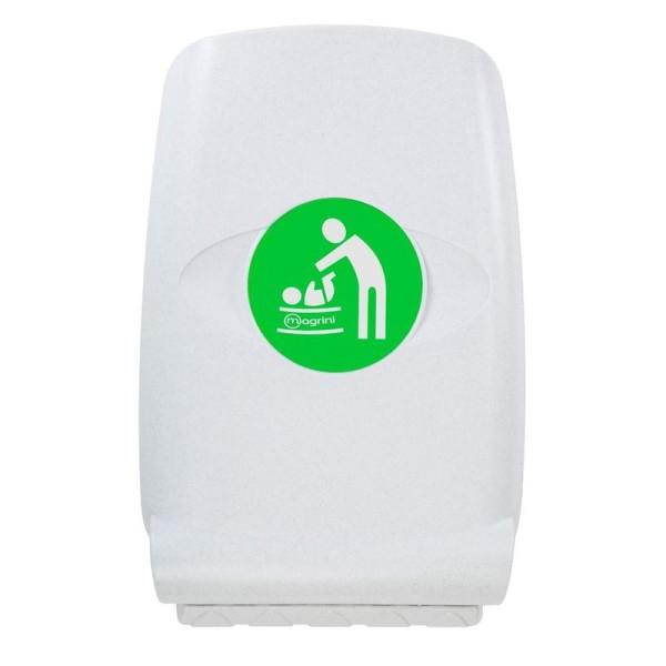 Babyverschoontafel van kunststof - Verticaal - Met hoge zijkanten MV64