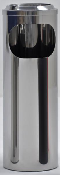 Graepel G-Line Pro BORMIO S Maxi staande asbak gemaakt van gepolijst RvS 1.4016 G-line Pro K00031980