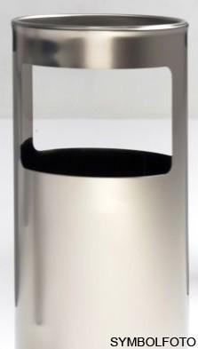 Graepel G-Line Pro Livigno staande asbak in design geborsteld RvS 1.4016 G-line Pro K00031929