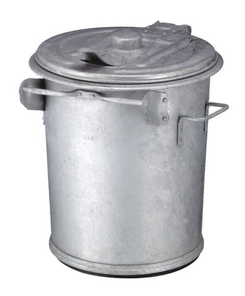 Staalverzinkte afvalbak 70 ltr 31033218