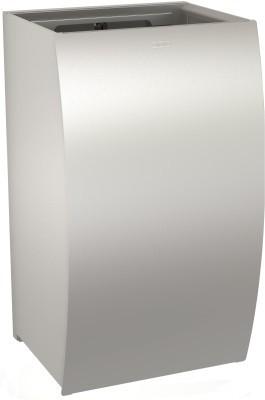 Franke chroomnikkelstaal vuilnisbak STRX605 voor wandmontage met InoxPlus coating Franke GmbH STRX605