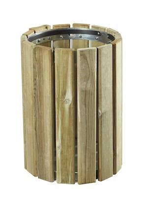 Rossignol Wall-mounted waste bin 20 L Eden from Wood Rossignol 58150