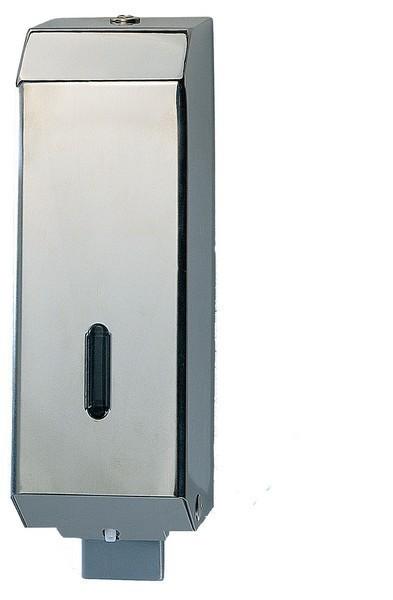 Marplast soap dispenser with chrome steel cover MP542 1,2 liter Marplast S.p.A. 542