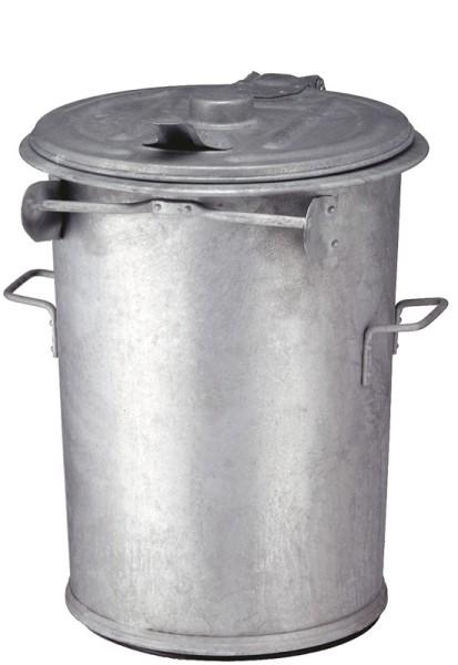 Staalverzinkte afvalbak 90 ltr 31033096