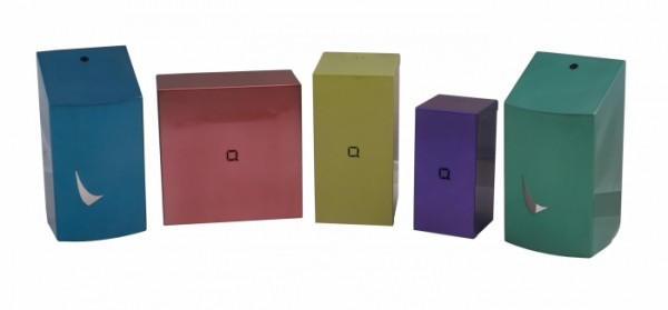 GlassColour coating voor Wings en Qbic-line producten verkrijgbaar in elke RAL-kleur op aanvraag! Qbic-line
