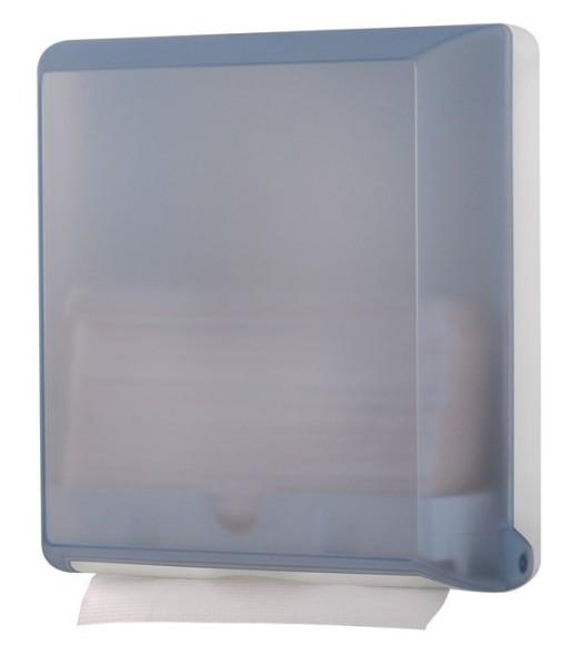 Papierhanddoek dispenser MP707 gemaakt van kunststof in transparant of glas Marplast S.p.A. 707,707