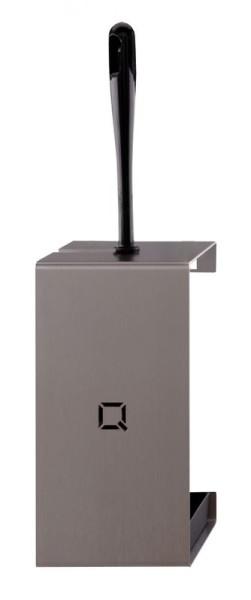 Qbic-line toiletborstelhouder RVS Qbic-line 6760