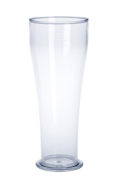 SET 53 stuks Witbierglas 0,3L SAN kristal helder van plastic herbruikbaar en robuust Schorm GmbH 9073