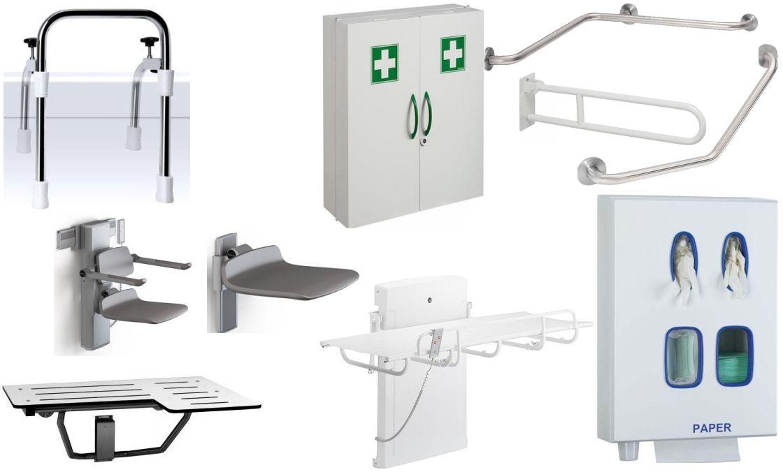 Sanitaire-hulpmiddelen