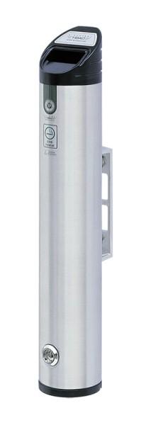 Wandasbak zuil rond aluminium 31659982