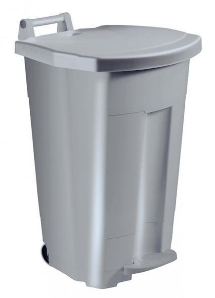 Mobiele Boogy pedaalemmer 90L van polyethyleen met transportgreep van Rossignol Rossignol 56356,56357,56358,56359,56364