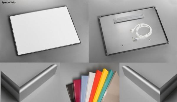 Infrarood Paneel in Aluminium Lijst in Ral-kleur naar Keuze!