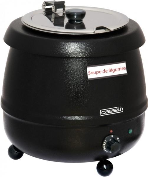 Casselin Elektrische soepketel 9 l - thermo-gecoate roestvrijstalen reservoir Casselin CMS2