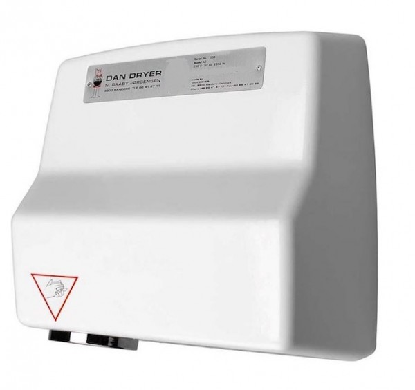 AE touch free hand dryer 2360W made of die-cast aluminium from Dan Dryer Dan Dryer A/S 261