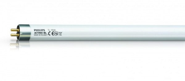Reserve UV blauwlicht buislamp Phillips Actinic met 15 watt voor de Insect-O-Cutor Halo Insect-o-cutor TPX15-18