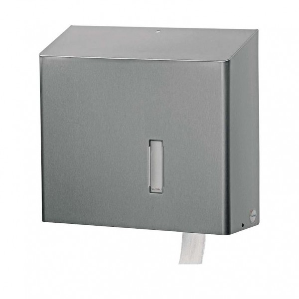 Dispenser for toilet paper for wall mounting for 1 JUMBO roll from Dan Dryer Dan Dryer A/S 1123,1126