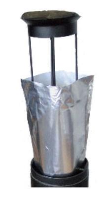 Aluminiumzak voor de buitenasbak - Smokers side - 12 stuks - Smokers side - Prodifa saccendrier