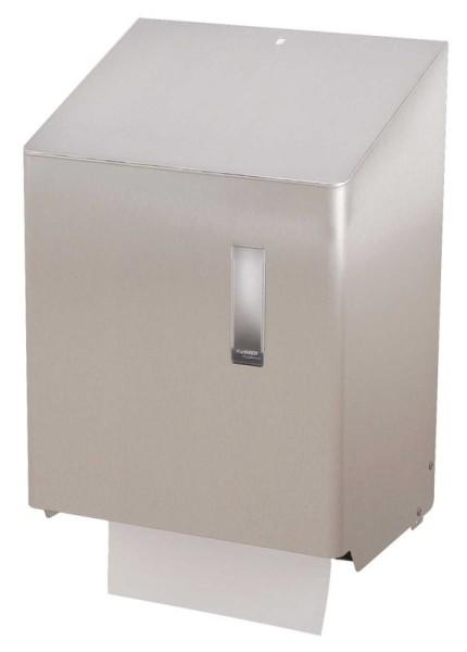 Contactloze papieren handdoek dispenser met een sensor van RVS Ophardt Hygiene SanTRAL HTU 1 - 3400351,3400359