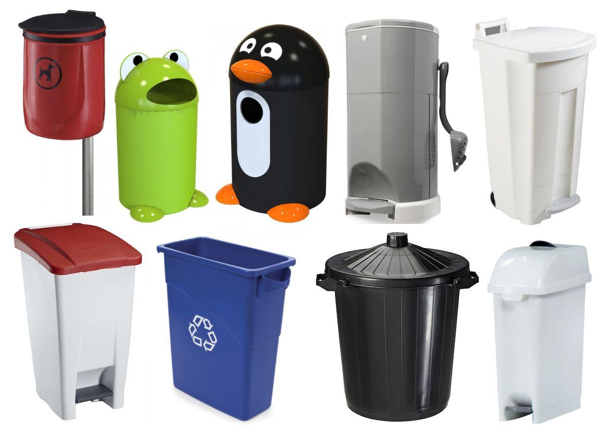 Kunststof-vuilnisbakken