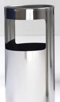 Graepel G-Line Pro Livigno staande asbak gemaakt van RvS 1.4016 G-line Pro K00031920