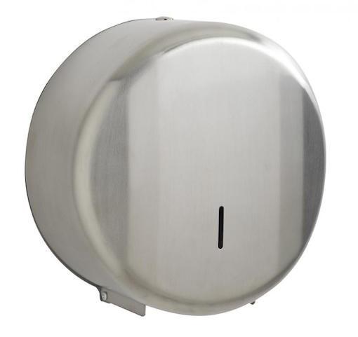 Lensea afsluitbaar dispenser voor wc-papier gemaakt van roestvrij staal van Rossignol Rossignol 52668,52669
