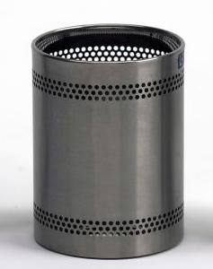 Graepel G-Line Pro Scopinox Paperbasket 8 liters - brushed stainless steel G-line Pro K00042069