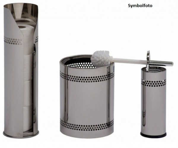 Graepel G-Line Pro Scopinox waste container 8 liters - stainless steel polished G-line Pro K00042050