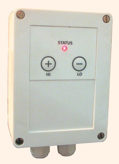 Heatlight controller for adjusting the heat output - infrared heaters - to 1.5KW Heatlight Infrarot HLWDIM