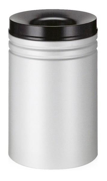 Vlamdovende papierbak 80 ltr grijs/zwart 31026388