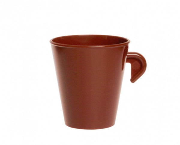 SET 20 stuks Espresso kopje 0,1L SAN gemaakt voor hoogwaardig kunststof - Schorm GmbH 9094-1