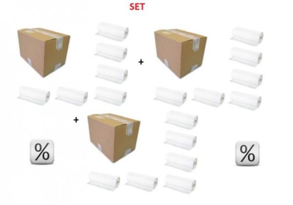 Super voordeelSET van 3x6 papierrollen voor de baby verschoontafel of commode PL/3,A134
