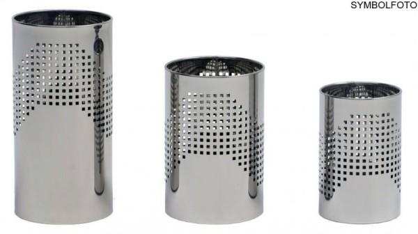 Prullenbak in design zwart gelakt staal Graepel G-Line Pro, 3 verschillende maten G-line Pro 16612,16632,16652