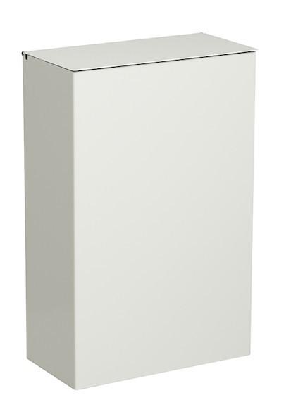 Prullenbak 10 liter voor wandmontage met deksel met plastic bronnen van Rossignol Rossignol 51362