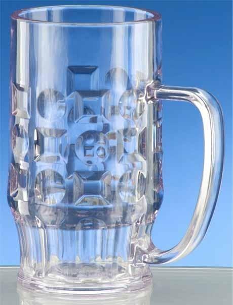 SET 20 stuks Bierpul 0,3l SAN - Hoogwaardig kunststof - vaatwasser bestendig - Schorm GmbH 9007