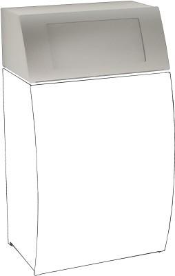 Franke klapdeksel als toebehoren voor afvalbak STRX608 Franke GmbH STRX608