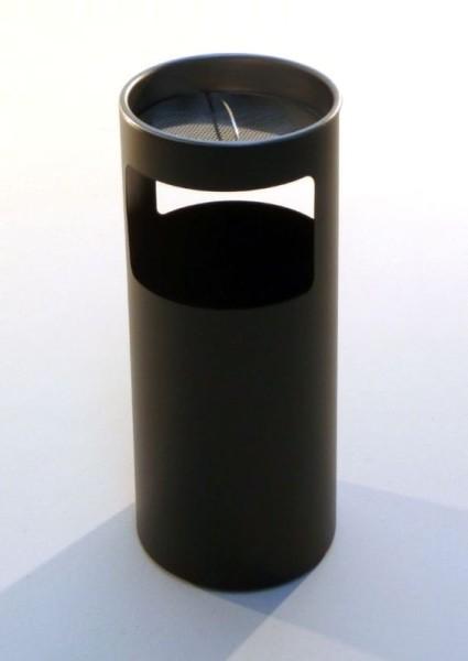 Graepel G-Line Pro Livigno staande asbak in design zwart gelakt staal G-line Pro K00031922