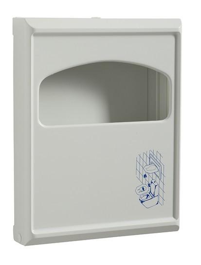 Sanipla afsluitbare dispenser voor papieren wc-bril afdekkingen van Rossignol Rossignol 54420