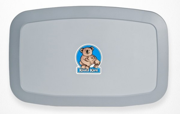 KB-200-01 NIEUW Koala Babyverschoontafel - Horizontaal Grijs MICROBAN¨ Technologie Koala Kare Products KB-200