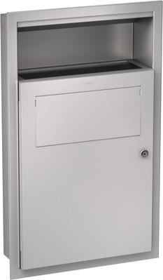 Franke afvalbak RODX612E voor damesverband en klein afval gemaakt van RVS Franke GmbH RODX612E