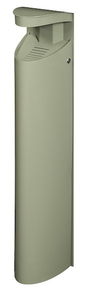 Koa staande asbak of muur asher 6L gemaakt van staal met anti-uv-coating van Rossignol Rossignol 56495,56498,56499,56599