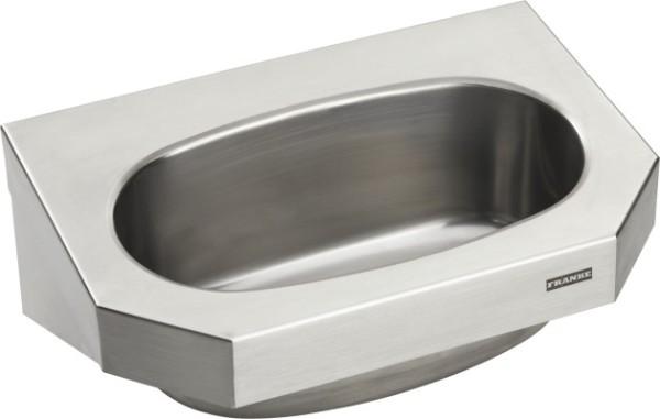 Franke wastafel WT360C gemakt van chroomnikkelstaal voor wandmontage Franke GmbH WT360C