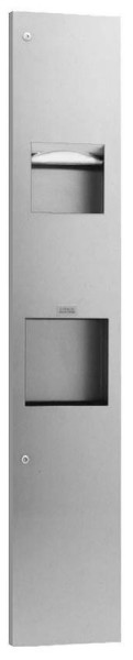 Bobrick TrimLineSeries 815969 Paper Towel Dispenser/ Automatic Hand Dryer/ Waste Receptacle Bobrick B-815969