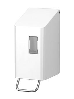 Ophardt SanTRAL classic NSU 2 Soap Dispenser 250ml powder coated white Ophardt Hygiene 1415832,1415830,1415831