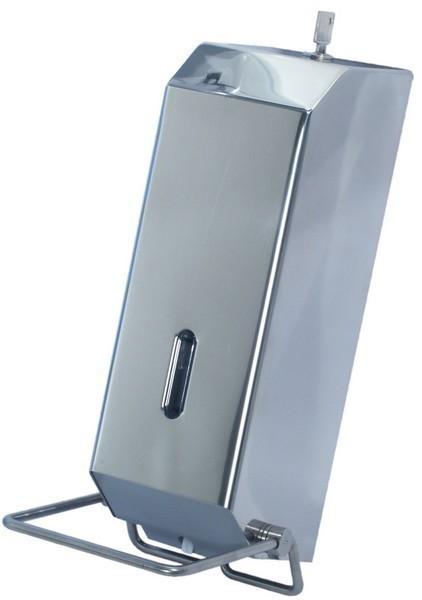 Marplast zeepverdeler chroomstaal MP736 1,2 liter met zicht venster Marplast S.p.A. 736