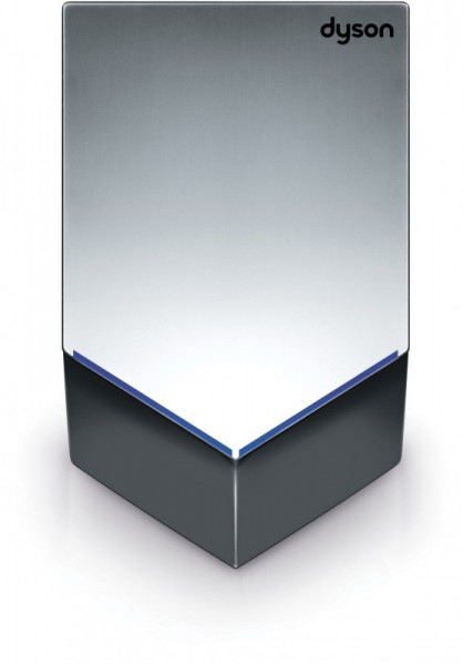 Dyson silver handdryer V 1600W 35 procent quieter made of polycarbonat Dyson CSDM12GRIS