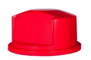 RUBBERMAID Kuppelaufsatz fŸr Brute Container RI000087 Farbe Rot Rubbermaid RU FG264788RED